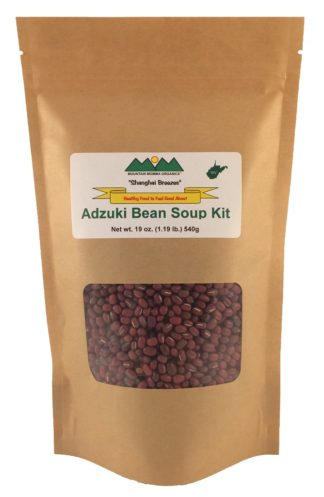 Gluten Free Organic Adzuki Bean Soup Kit