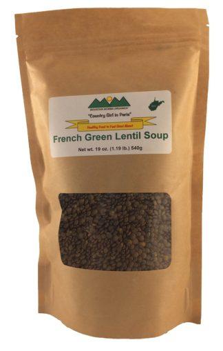 French Green Lentil Soup Kit