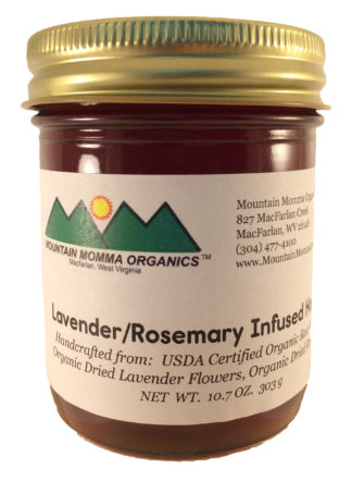 Lavender Rosemary Honey